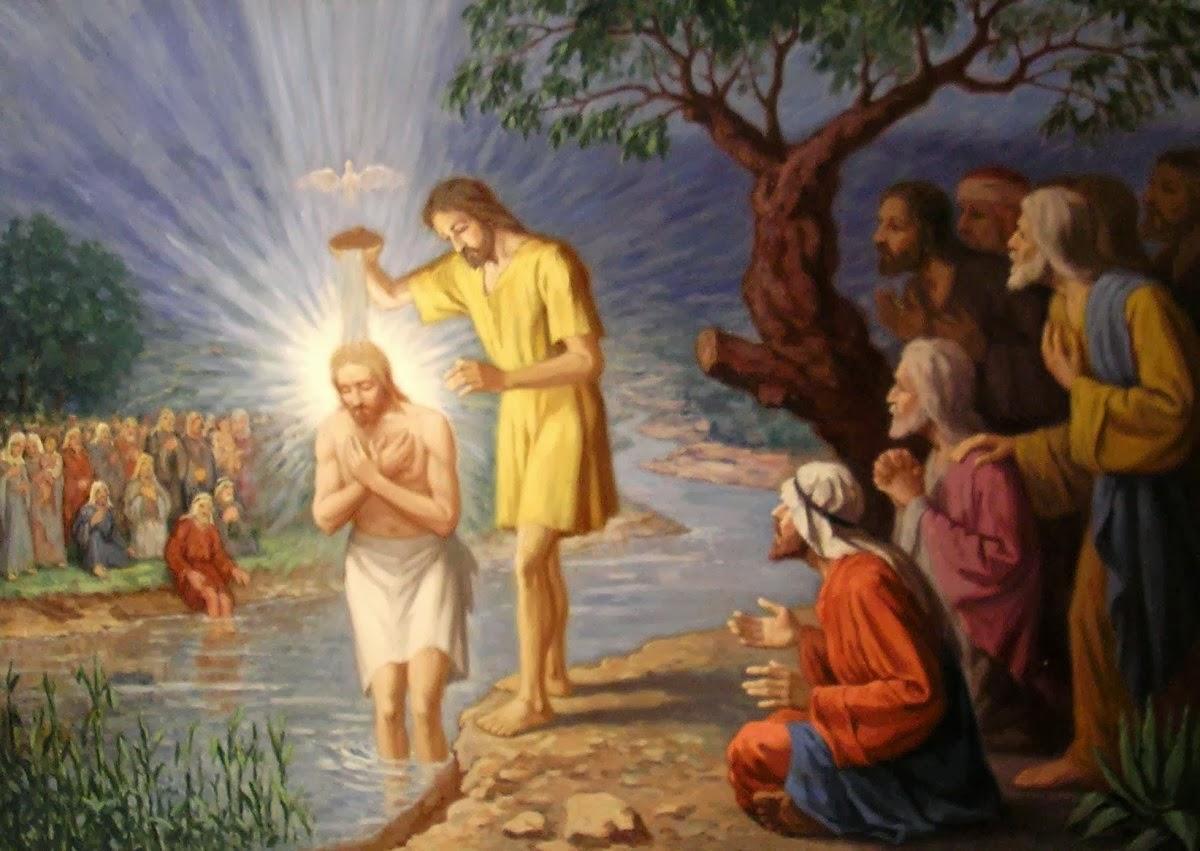 08/01 – Thứ hai. Lễ Chúa Giêsu chịu Phép Rửa