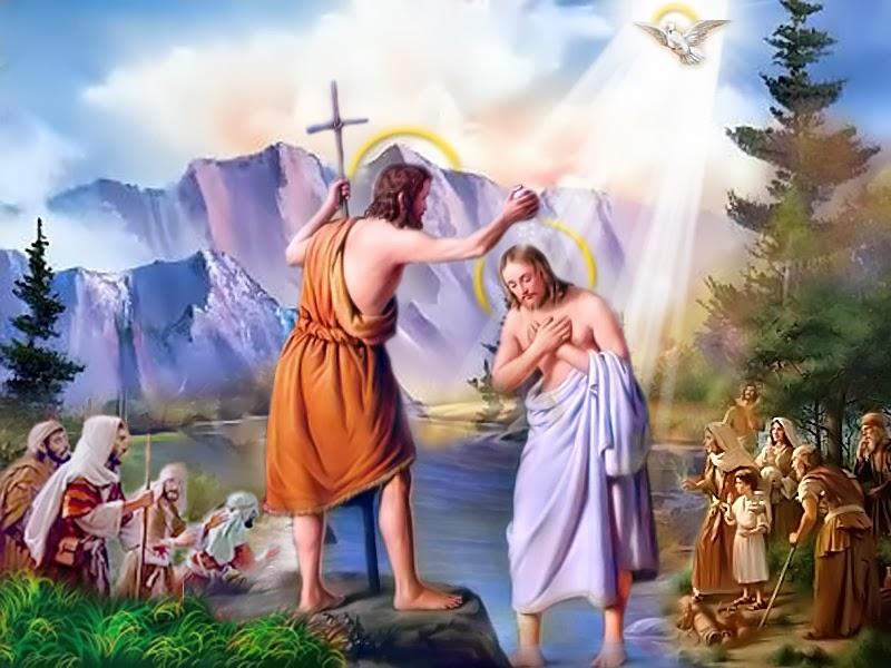 CHÚA NHẬT CHÚA GIÊSU CHỊU PHÉP RỬA (Lc 3, 15 – 16.21-22)