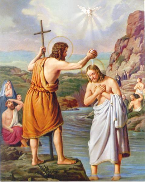 Bài Giảng Lễ Chúa Giê-su chịu Phép Rửa Năm C - Linh mục Nguyễn Hữu Thy