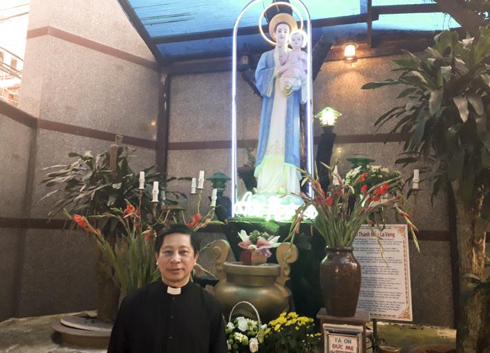 Cha Giuse Maria Nguyễn Đức Vinh - Cha Phó thứ hai tại Giáo xứ Tân Thái Sơn