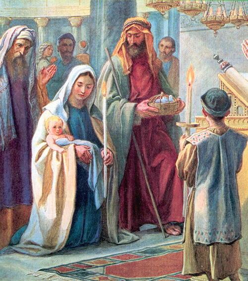 Lời Chúa lễ Đức Mẹ Dâng Chúa Giê-su trong Đền Thánh (02/02)