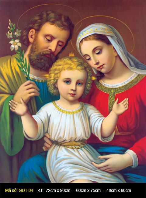 Lời Chúa Lễ Thánh Gia Thất (Chúa Giê-su, Đức Ma-ri-a và Thánh Giu-se)