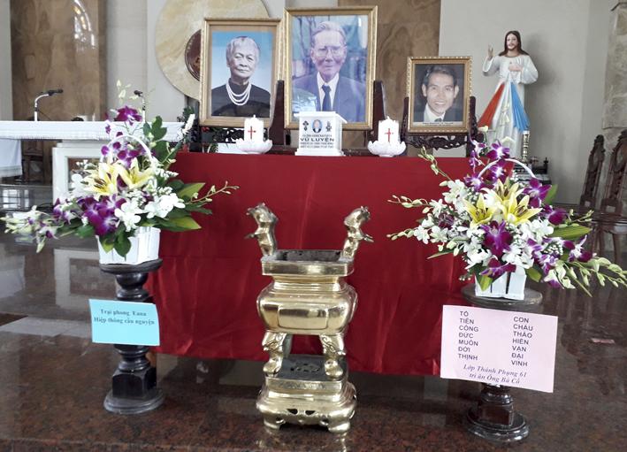 Lễ Giỗ 15 Năm Cụ Ông Gioan Baotixita Vũ Luyện (15/11/2017)