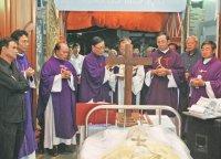Nghi Thức Tẩn Liệm và Thánh Lễ Phát Tang Cha Cố Giuse Maria Đinh Cao Tùng.