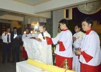 Gx Tân Thái Sơn: Đêm Canh Thức Mừng Chúa Phục Sinh - 2015
