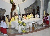 Lễ Tạ Ơn 46 năm Linh mục - Cha Chính Xứ Phê-rô Nguyễn Quốc Túy .