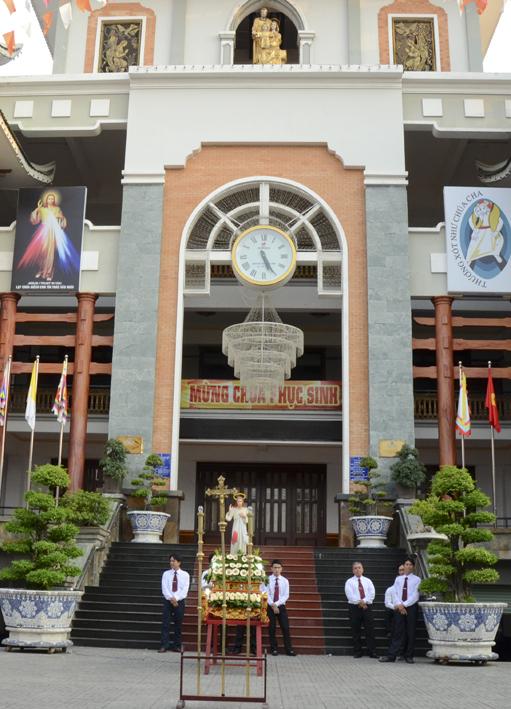 Gx TTS: Đại lễ Kính Lòng Chúa Thương Xót - CN II Phục Sinh 2016