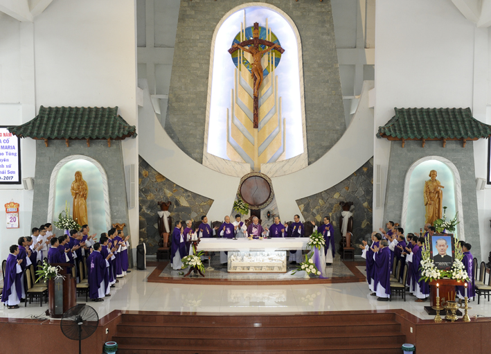 Gx TTS: Lễ Giỗ 03 Năm Cha Cố Giuse Maria Đinh Cao Tùng