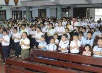 Nhóm Ơn Gọi và Ca Đoàn Thiên Thần (Gx TTS) Mừng Bổn Mạng