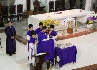 Một số hình ảnh Lễ Tro (30 tết Ất Mùi) tại Giáo xứ Tân Thái Sơn