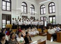 Ca Đoàn Giuse Giáo xứ Tân Thái Sơn Mừng Bổn Mạng.