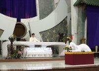 Một số hình ảnh Lễ Tiệc Ly dành cho Thiếu Nhi tại Gx Tân Thái Sơn.
