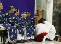Giáo Dân Tân Thái Sơn Tham Dự Thánh Lễ Tiệc Ly 2014
