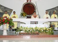 Giáo Dân Tân Thái Sơn Tham Dự Lễ Tạ Ơn Kỷ Niệm 45 năm Linh mục Của Cha Chánh Xứ .