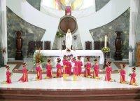Một số hình ảnh Giáo Khu I-Gx Tân Thái Sơn Dâng Hoa Kính Đức Mẹ.(10/05/2014)
