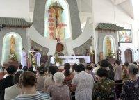 Một số hình ảnh Giáo Dân Tân Thái Sơn dự lễ Kỷ Niệm Đức Mẹ Hiện ra tại Fatima (trưa 13/05/2014)