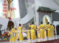 Một số hình ảnh Giáo Khu III-Gx Tân Thái Sơn Dâng Hoa Kính Đức Mẹ.(17/05/2014)
