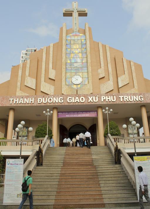 Quý Chức HĐMV Gx TTS Tham Dự Khóa Huấn Luyện HĐMV Tại Giáo Hạt.