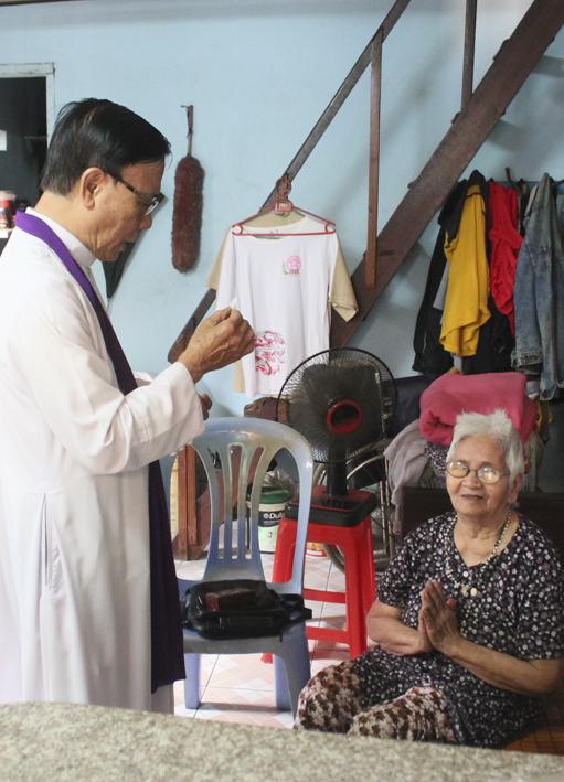 Giáo xứ Tân Thái Sơn – Bác Ái Mùa Chay 2016.