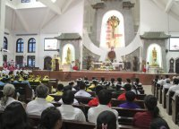 Giáo Xứ Tân Thái Sơn Bế Mạc Tháng Hoa 2014
