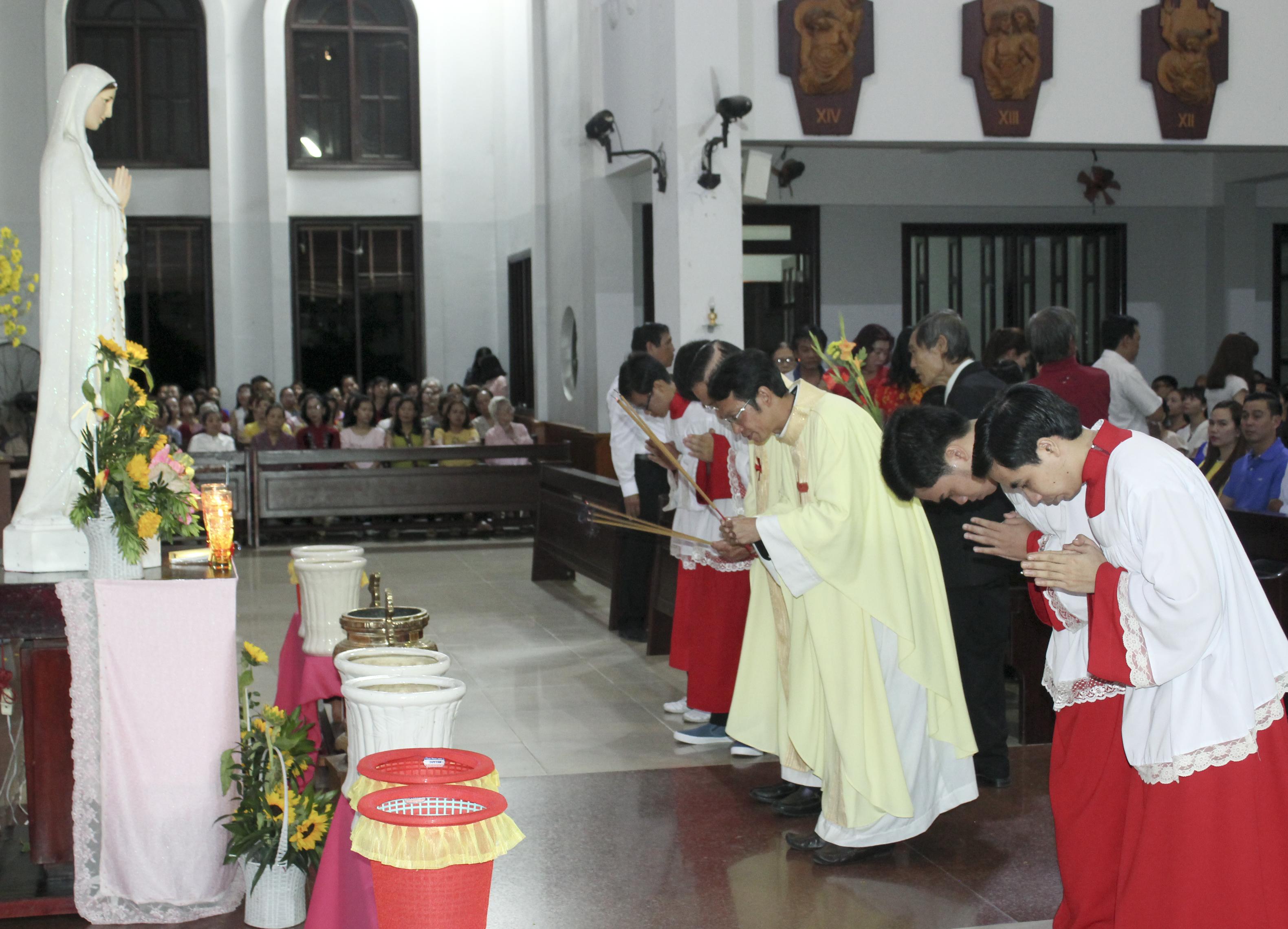 Giáo Dân Tân Thái Sơn Mừng Tết Đinh Dậu 2017 - Lễ Tân Niên, Tết Đức Mẹ