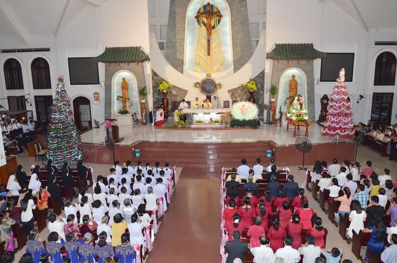 Gx TTS: Mừng Lễ Kính Thánh Gia Thất - Bổn Mạng Giáo Xứ (27/12/2015)