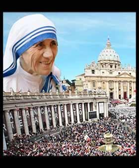 Chương trình Lễ Tôn Phong Hiển Thánh cho Mẹ Têrêsa Calcutta