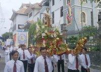 Rước Kiệu Khai Mạc Tháng Hoa - Giáo Khu V Mừng Bổn Mạng.