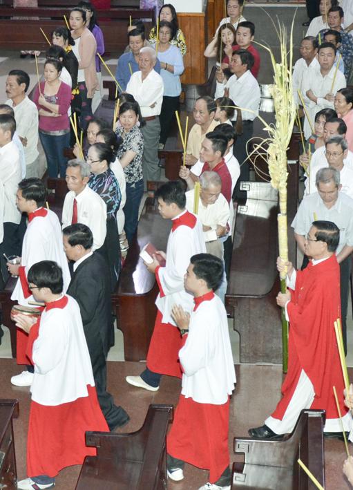 Giáo xứ Tân Thái Sơn: Chúa Nhật Lễ Lá 2016