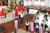 Giáo xứ Tân Thái Sơn: Ngôi Ba Thiên Chúa Ngự Đến